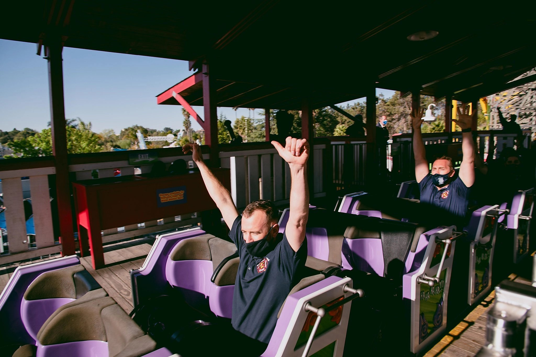 What it's like to ride thrill rides again as Bay Area's Six Flags reopens