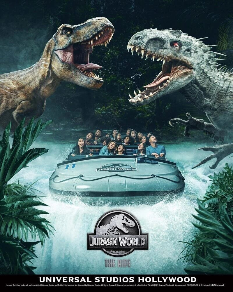 Universal Tests 'Jurassic World' Ride Ahead of Opening