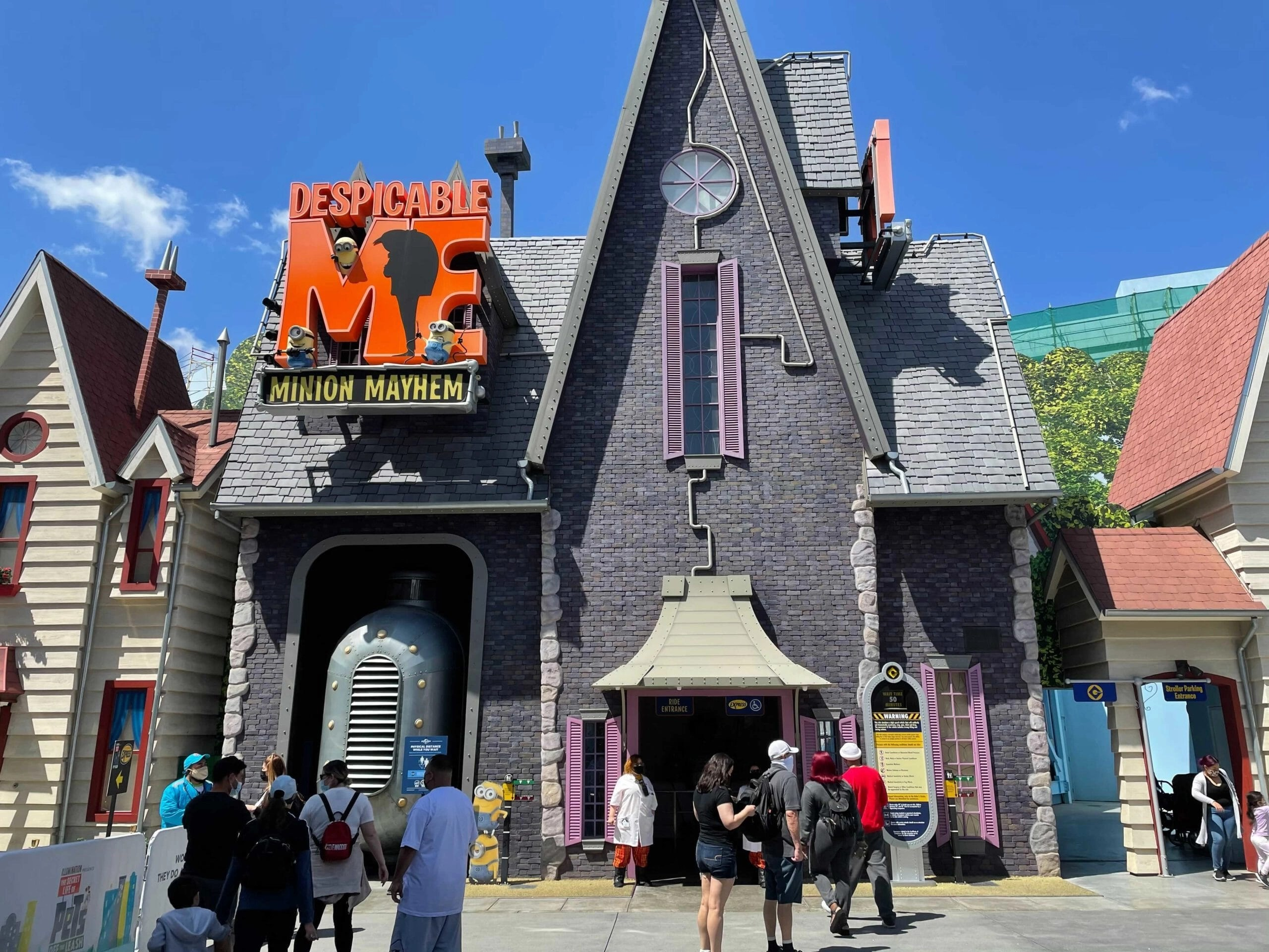 PHOTOS, VIDEO: Despicable Me – Minion Mayhem Reopens at Universal Studios Hollywood