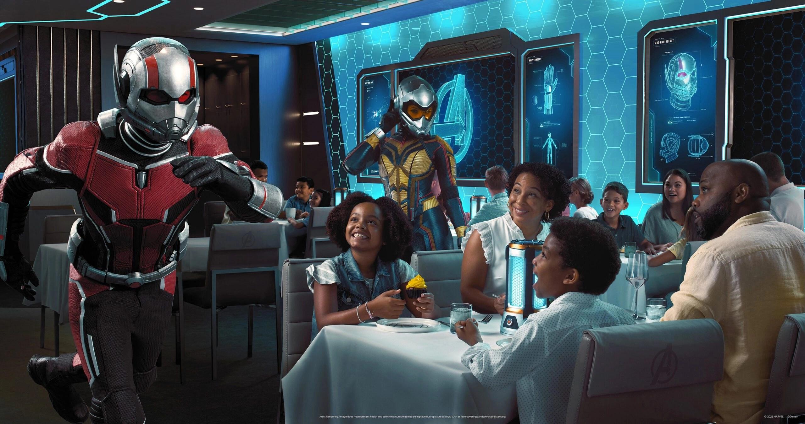 Supersized Adventure: Disney Cruise Line Premiering 'Avengers: Quantum Encounter' Dining Experience Aboard Disney Wish