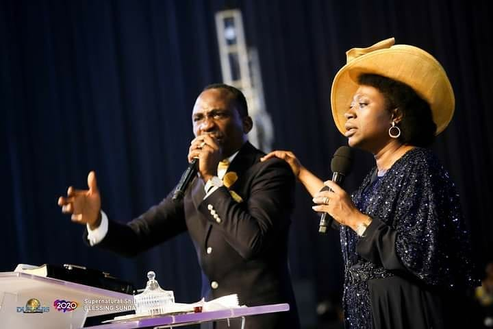 Dr Paul Enenche and Wife