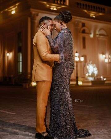 Williams Uchemba wedding date with brunella oscar 1