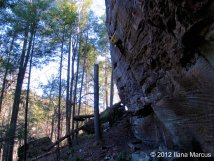 Windy Corner (5.11b) - Torrent Falls, Red River Gorge, KY