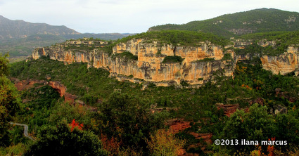 The Main Cliffs of Siurana