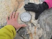 Geological Survey Summit Marker, The Grand Teton - Thrillseekers Anonymous