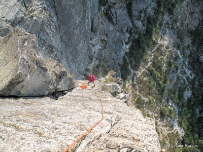 Airy Arete P3 of Traveler Buttress at Lover's Leap - Thrillseekers Anonymous