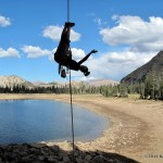 Playful Rappelling in the Uintas - Thrillseekers Anonymous