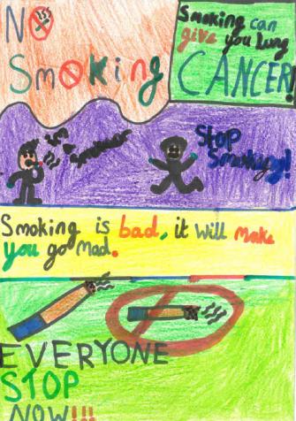 No smoking - will make you mad