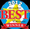 2012 Best of Milpitas Winner