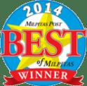 2014 Best of Milpitas Winner