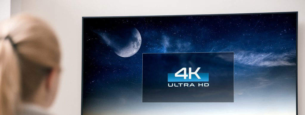 60% of New TV Purchases Will be a 4K Version in 2020