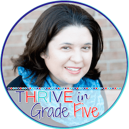 grab button for Thrive in Grade Five