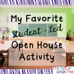 "My Favorite ""Student-Led"" Open House Activity"