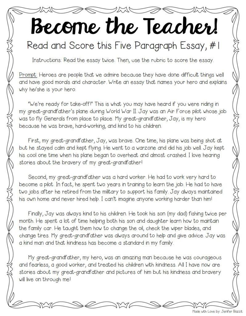 qualities of a good teacher summary