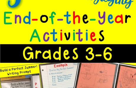 End-of-the-Year Activities for Grades 3-6