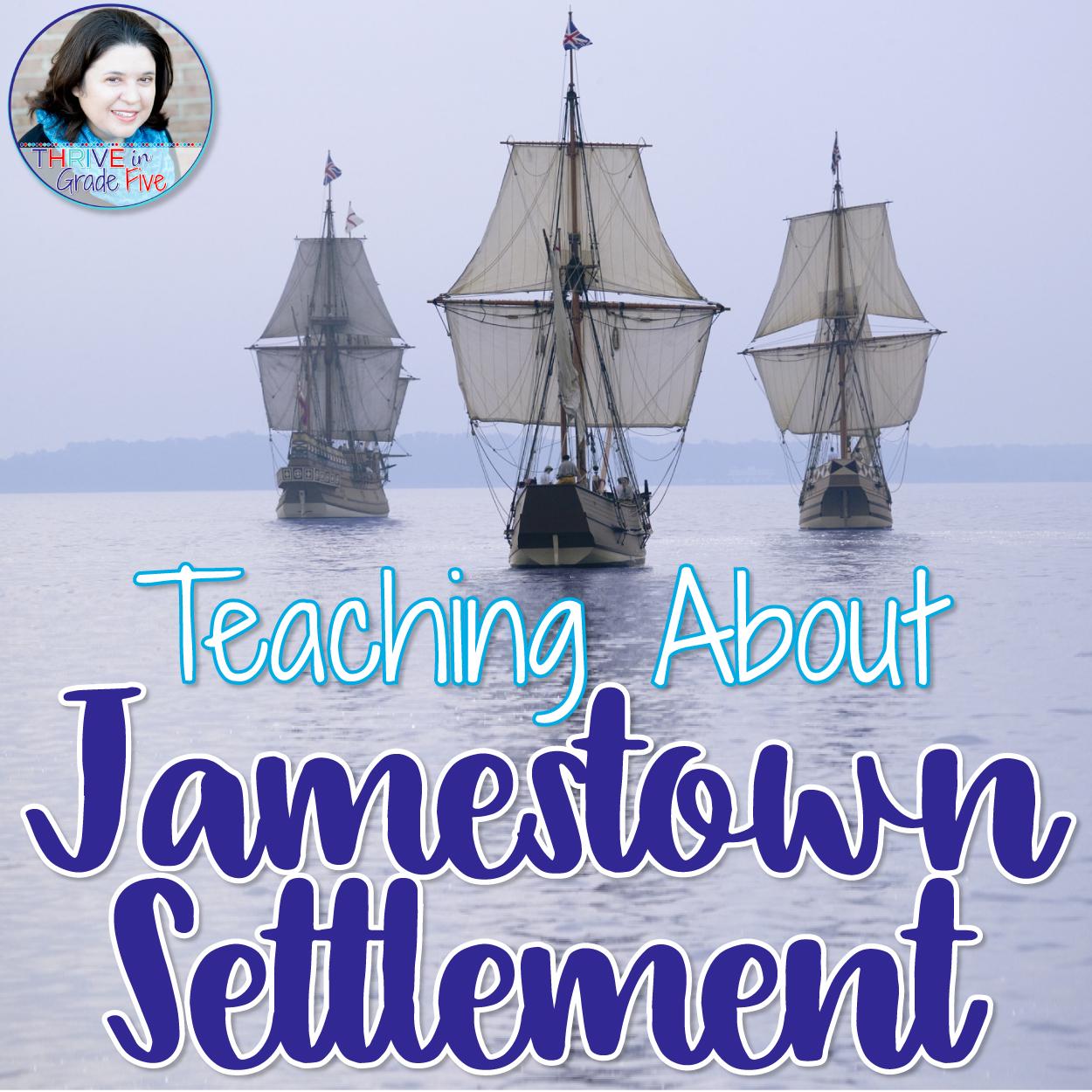 Teaching About Jamestown Settlement
