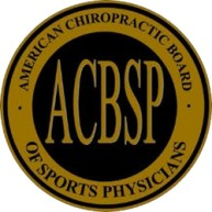 Thrive 2020 San Jose is licensed by the American Chiropractic Board of Sports Physicians or ACBSP.