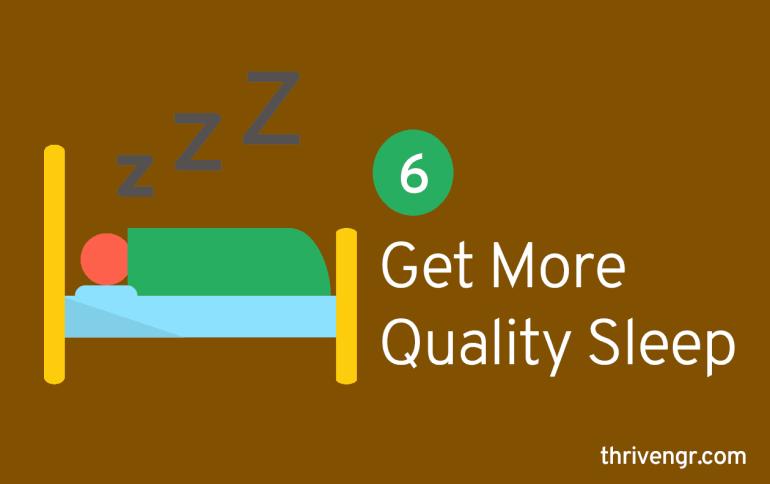 Get More Quality Sleep