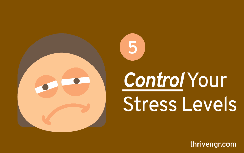 Control Your Stress Levels
