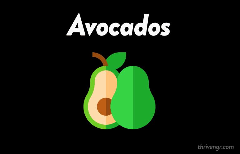 avocado benefits thrivengr