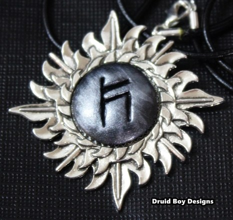 rune stone necklace