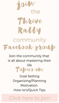 Join Thrive Rally Community Facebook Group