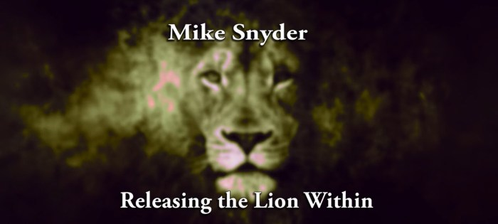 Releasing Lion Within   Lion Story