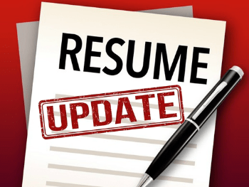 how to update resumes