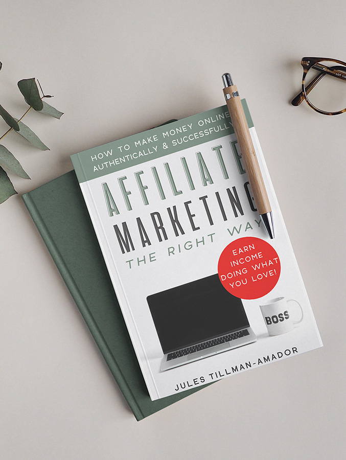 "I wrote the book on affiliate marketing! No high-priced course needed! ""Affiliate Marketing the Right Way: How to Make Money Online Authentically and Successfully"" THE BOOK (on Kindle and paperback - audio version coming soon!) is here! #thrivingaffiliates"