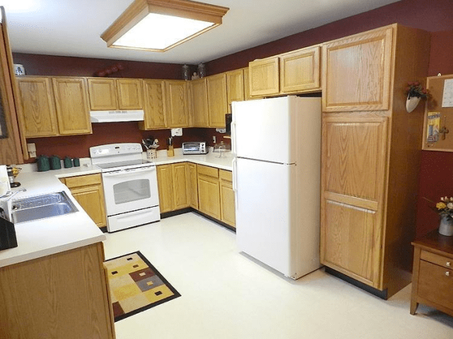 Painted Oak Kitchen Cabinets Before And After Brilliant And How To     painted oak kitchen cabinets before and after  Brilliant And Kitchen To  Painted Oak Kitchen Cabinets
