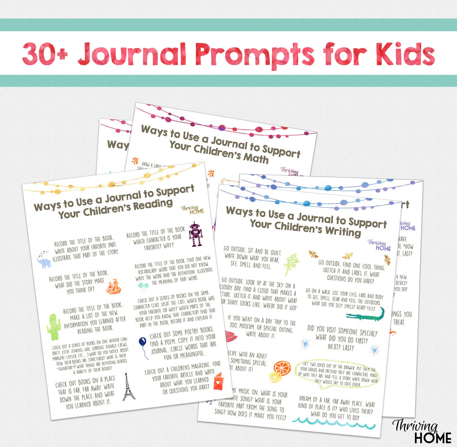 20 Summer Learning Activities For K 5th