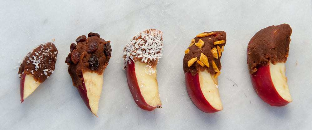 Autoimmune Paleo Carob Apples by Thriving on Paleo #AIP