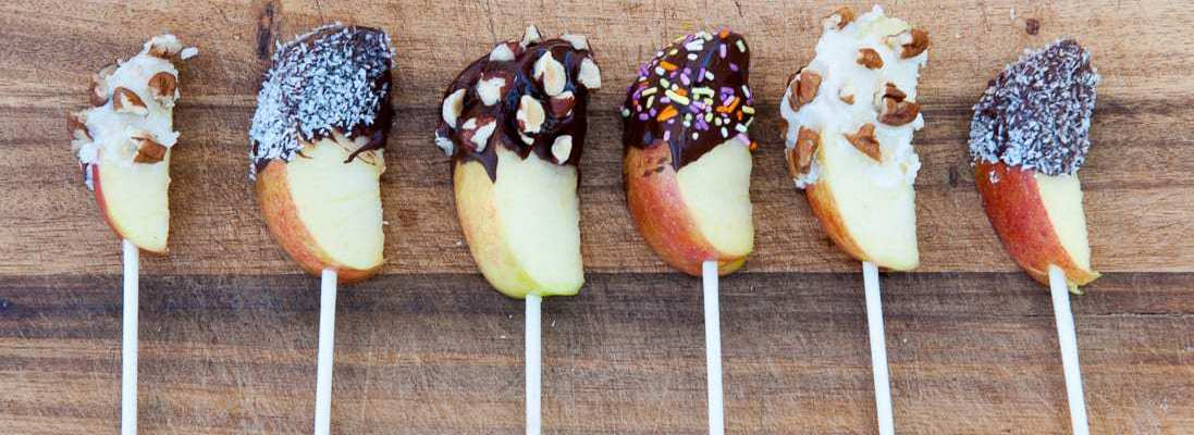 Paleo Chocolate Covered Apples by Thriving On Paleo
