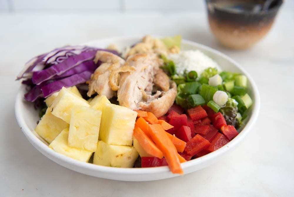 Paleo Asian Pineapple Chicken Salad