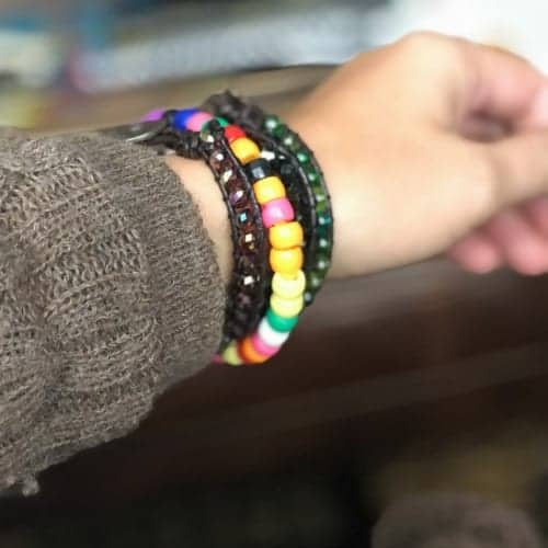 Pipecleaner bracelet