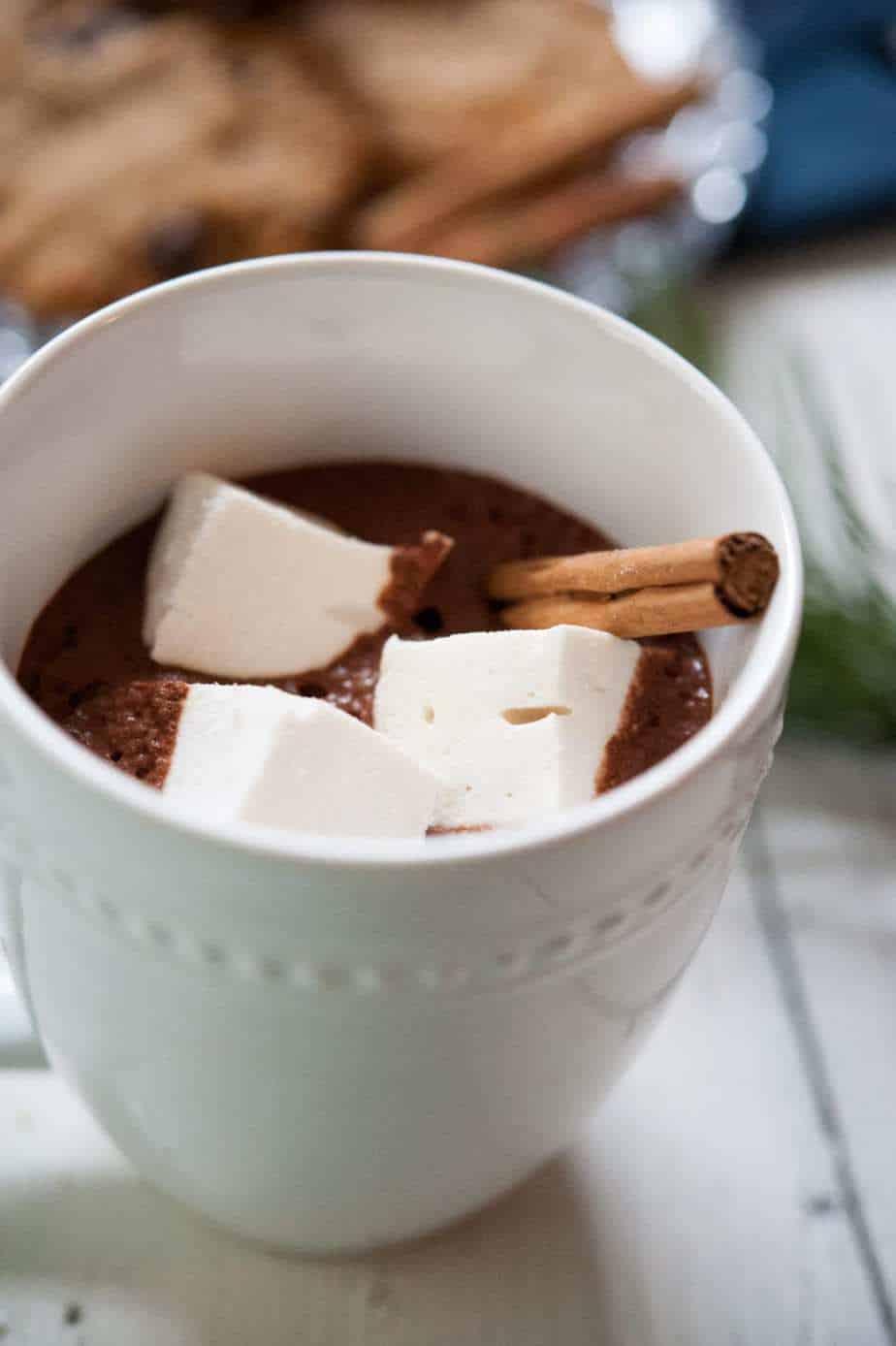 Paleo Hot Chocolate Pre-Made Mix