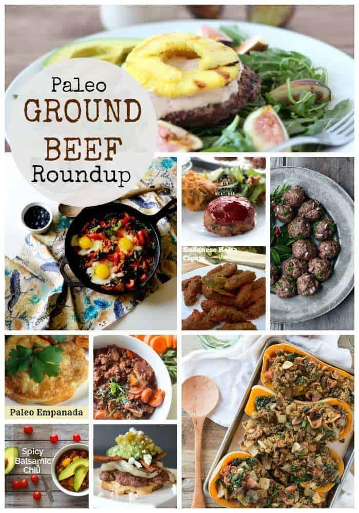 Paleo Ground Beef Recipes Roundup