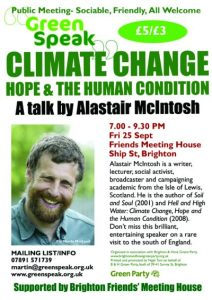 Alistair Mcinstosh Hope poster