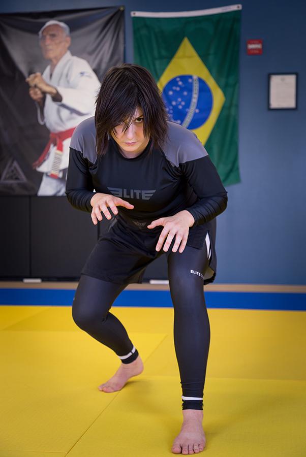 Kristen DeBruycker in Elite Sports No Gi Gear