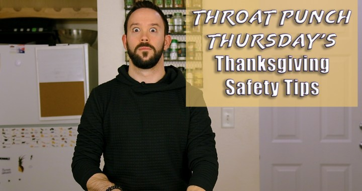 thanksgiving safety tips 2017