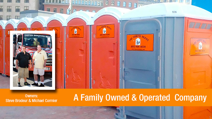 Family Owned Portable Restroom Service in Boston MA
