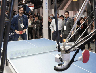 FORPHEUS: The Amazing Ping-Pong Playing Robot