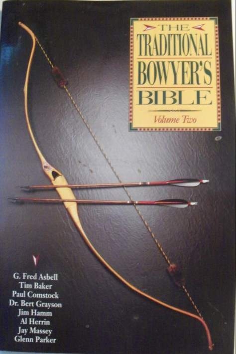 Photograph of the front cover of the Traditional Bowyer's Bible Volume Two by Asbell, Baker, comstock, Hamm et. al.