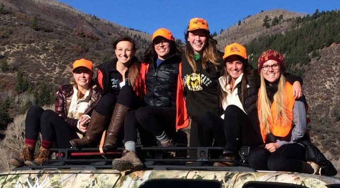 Ladies Team Elk and the Ultimate Hunt