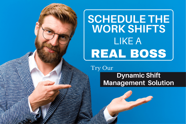 Shift management solution slider