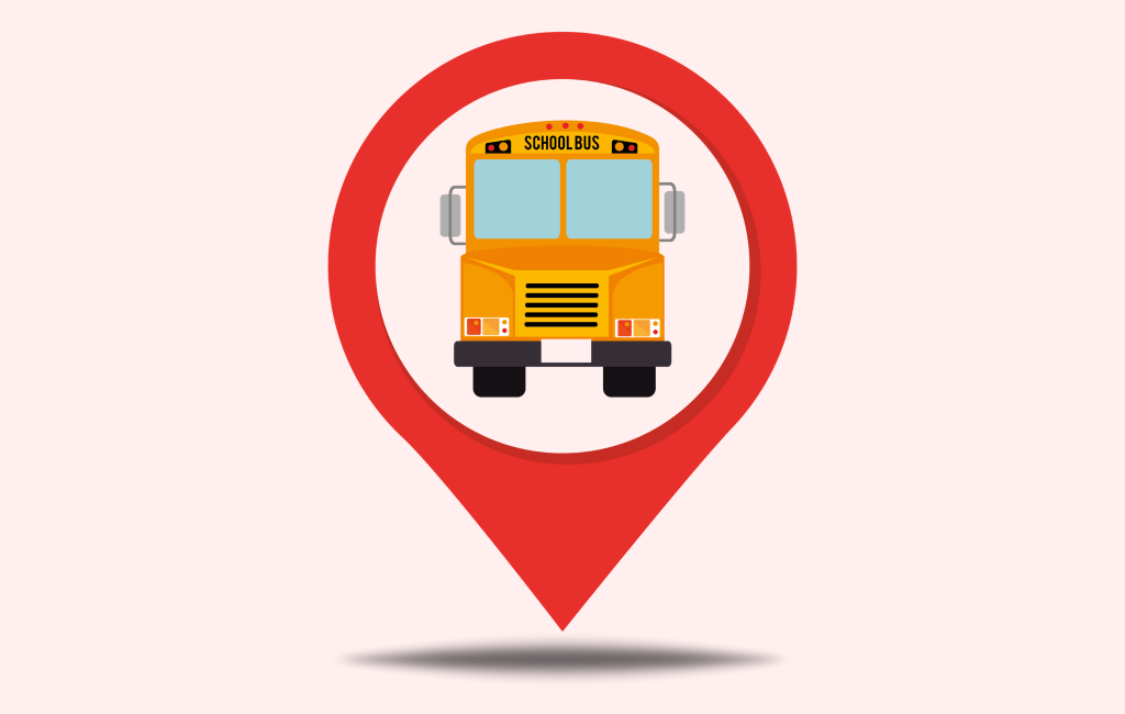 School bus location tracking