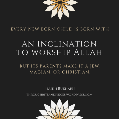 -Every new born child isborn with aninclinationto worship2