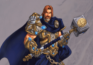 Uther - One of the first paladins of the Silver Hand
