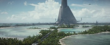 Rogue One: A Star Wars Story Scarif Photo credit: Lucasfilm/ILM ©2016 Lucasfilm Ltd. All Rights Reserved.