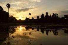 Angkor sunrise